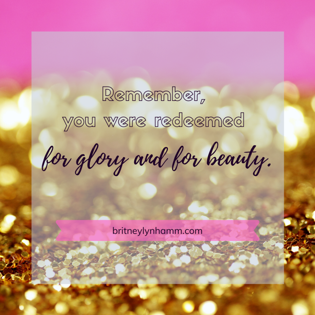 Britney Lyn Hamm for beauty and for glory